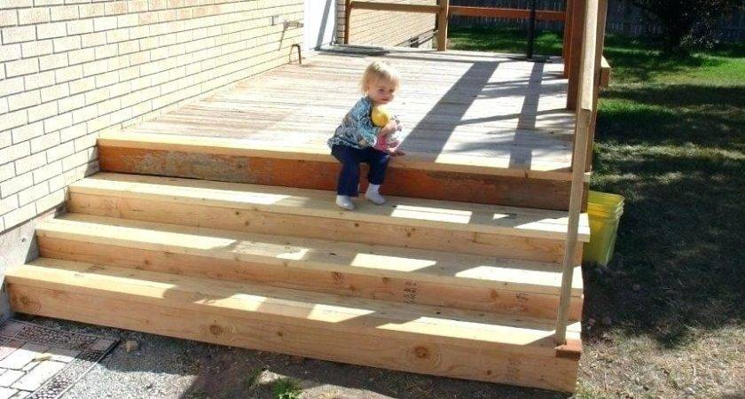 Premade Steps Deck Outdoor Kit Exterior