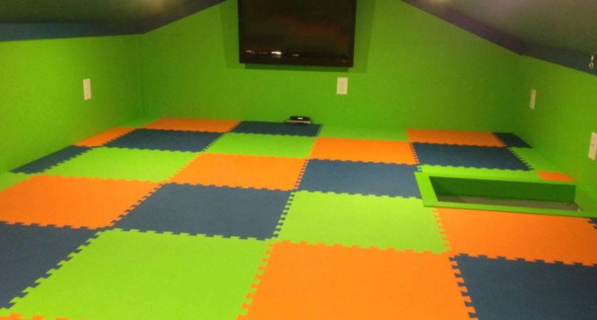 Premium Soft Tiles Interlocking Foam Floor