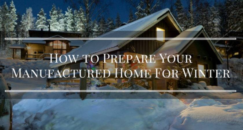 Prepare Your Manufactured Home Winter Basic