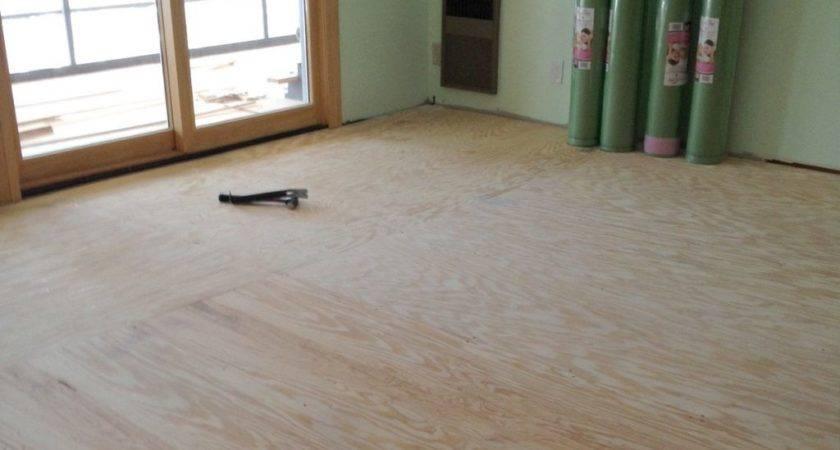 Preparing Subfloor Laminate Flooring Wood