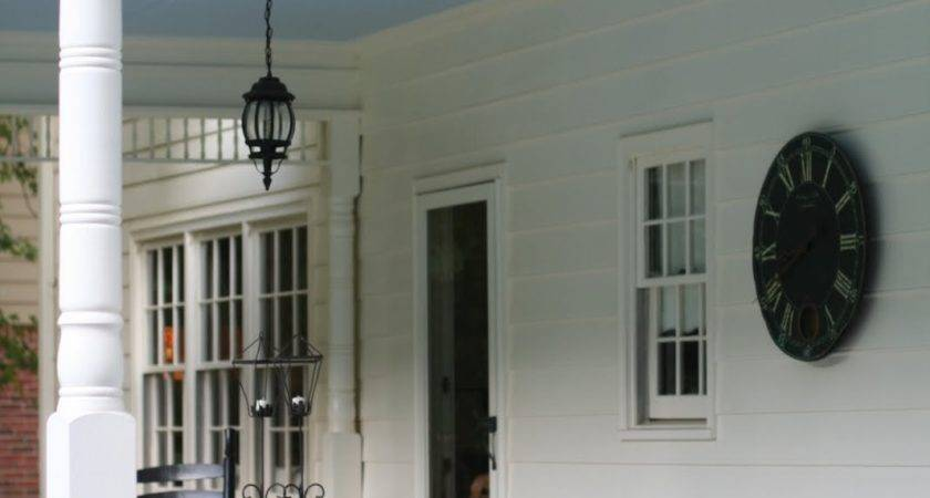 Pretty Practical History Haint Blue Porch