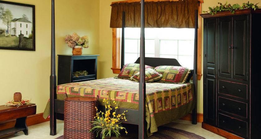 Primitive Bedroom Furnitureamish Made Style
