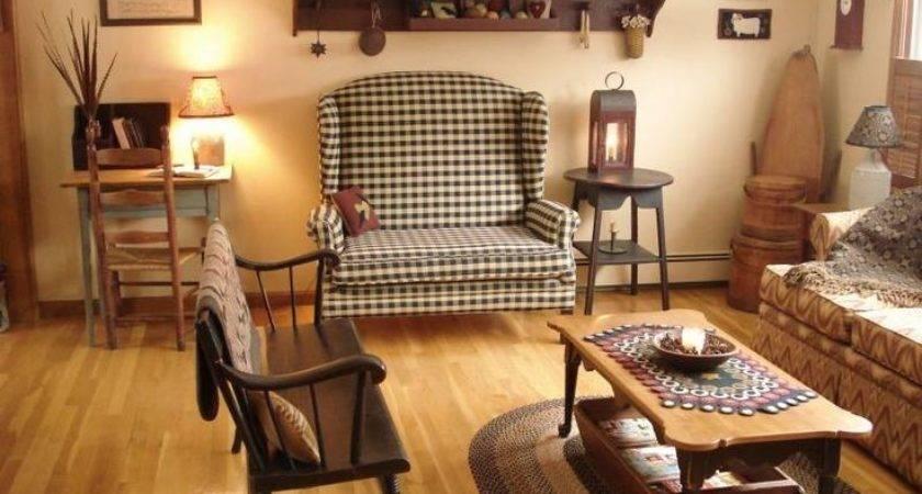 Primitive Colors Living Room