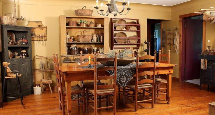 Primitive Country Home Decor Wall Furniture Style