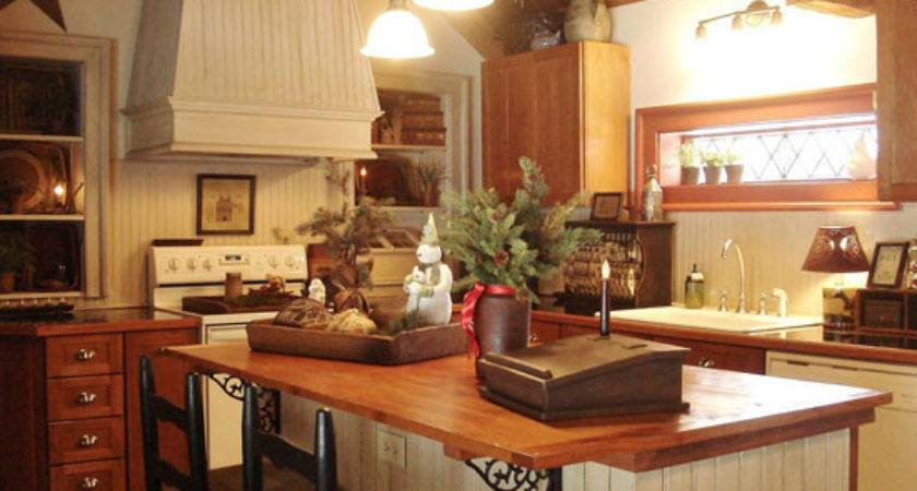 Primitive Country Kitchen Decorating Ideas Home Design