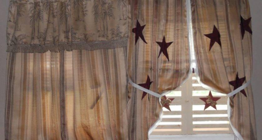 Primitive Curtains Gingham Goose Fine Period