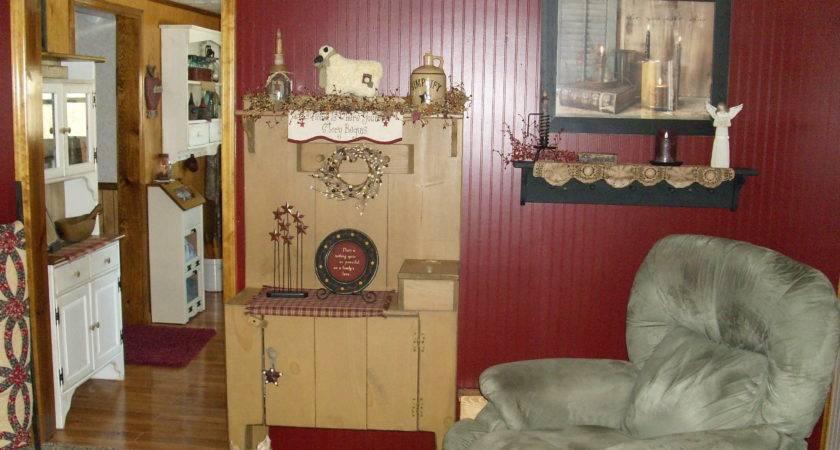 Primitive Living Room Simply Pinterest