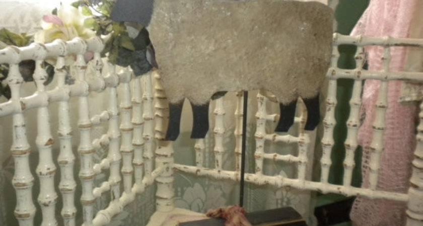 Primitive Sheep Decor Eclectic Farm Animal