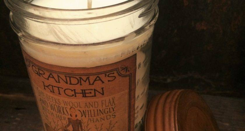 Primitive Soy Candle Rusty Lid