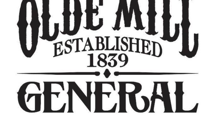 Primitive Stencil Olde Mill General Store