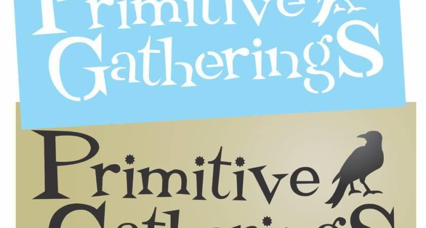 Primitive Stencil Prim Gatherings Crow Country Home