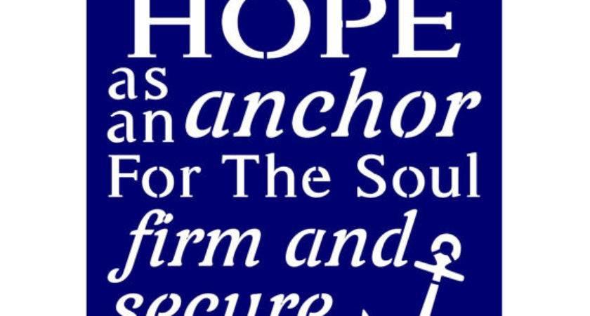 Primitive Stencil Signs Crafts Have Hope