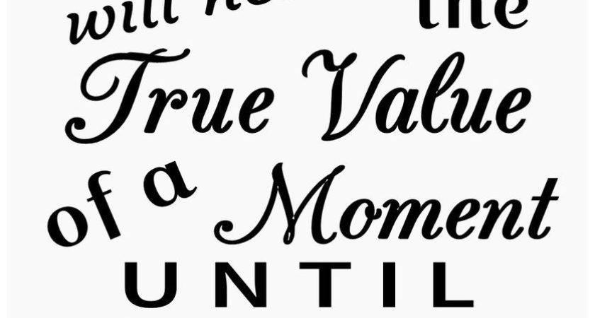 Primitive Stencil Signs Never Know True Value