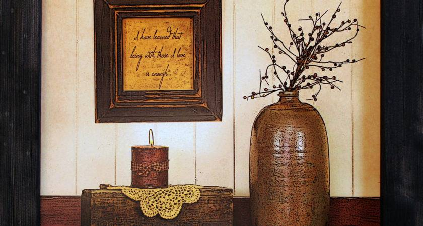 Primitive Wall Decor Country