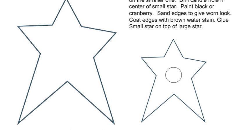 Printable Primitive Star Patterns