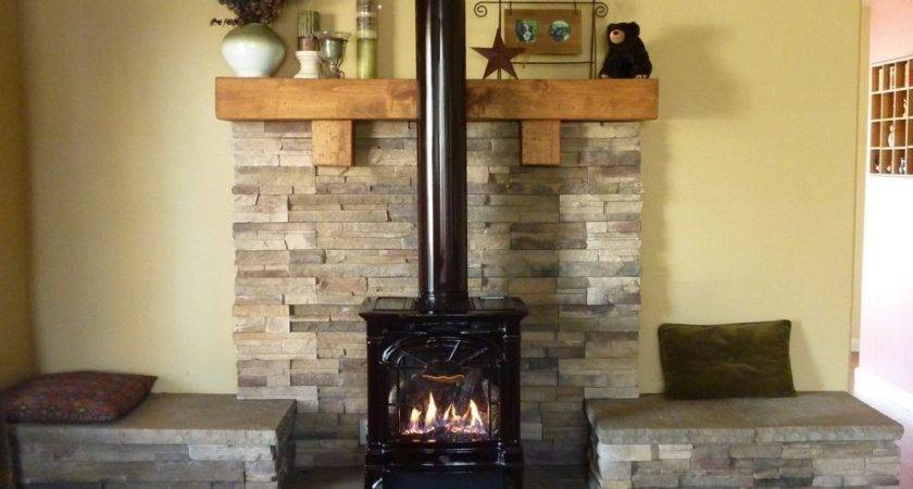 Propane Fireplace Had Hearth Built Give More