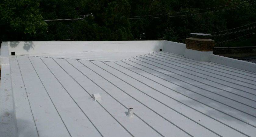 Proper Drainage Standing Seam Metal Flat Roof Can