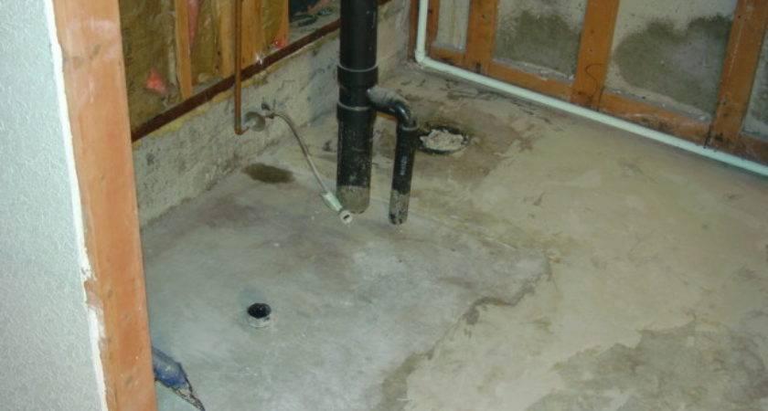 Proper Venting Basement Shower Toilet