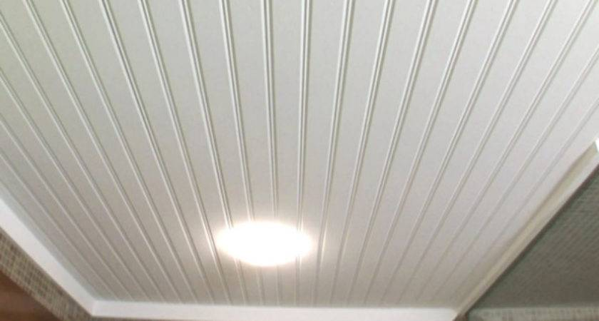 Put Wainscoting Ceiling Energywarden