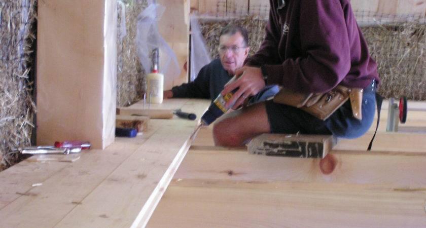 Putting Down Loft Floor