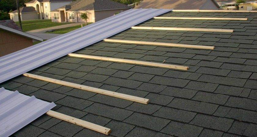 Putting Metal Roof Over Shingles