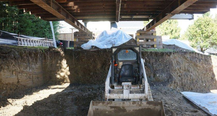 Putting New Basement Under Existing House