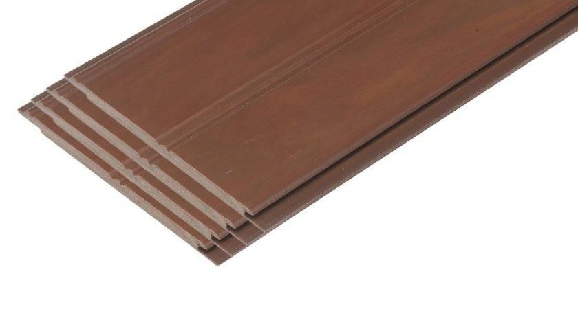 Pvc Beadboard Planks Faux Finishd Redwood