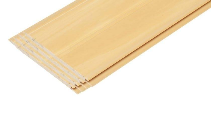 Pvc Beadboard Planks Faux Finishd Yellow Pine