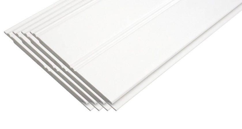 Pvc Beadboard Planks White Excellent Durability