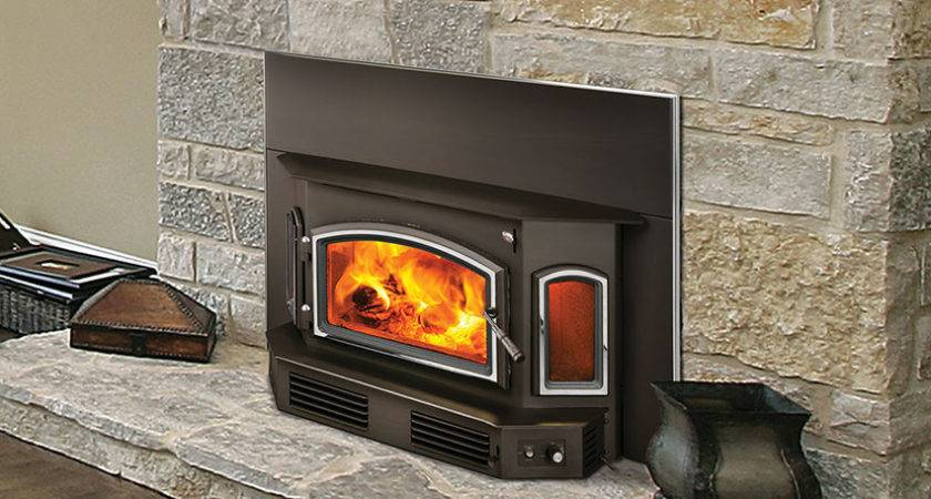 Quadra Fire Wood Insert Fireside Hearth Home