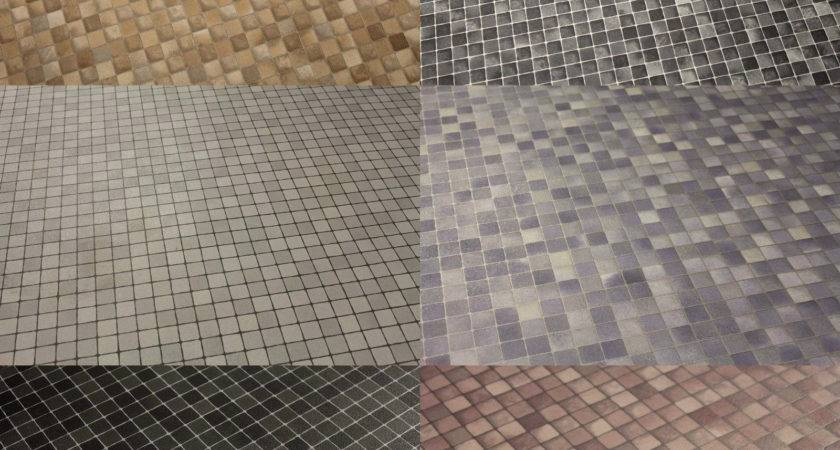 Quality New Mosaic Vinyl Lino Flooring Kitchen Bathroom