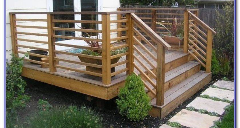 Railing Ideas Deck Decks Home Decorating