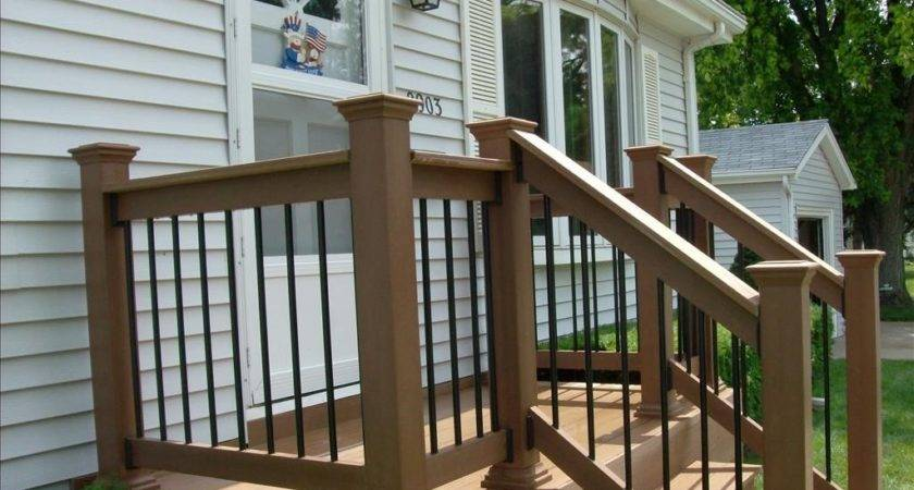 Railings Small Front Porch