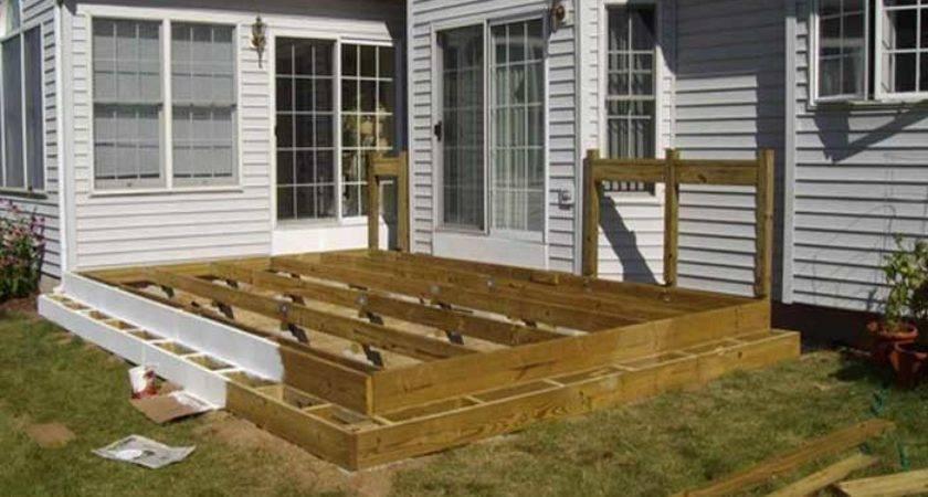 Raised Deck Designs Imgkid Has