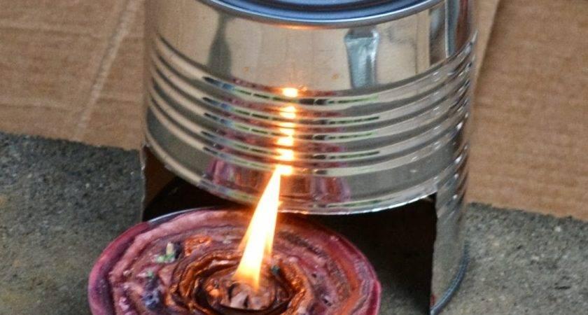 Ramblings Testing Tin Can Stove