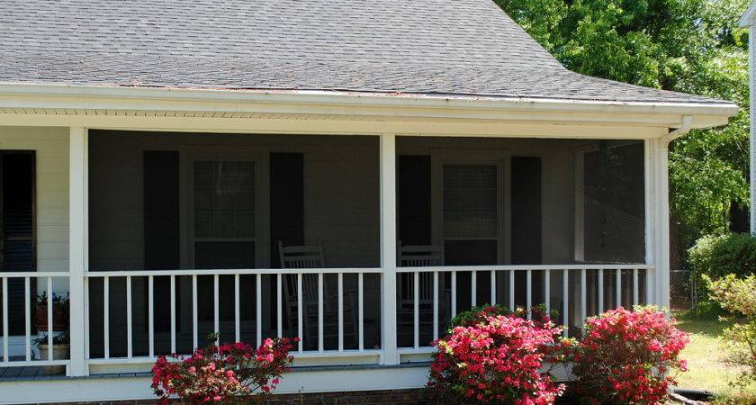 Ranch Home Porches Add Appeal Comfort Front Porch
