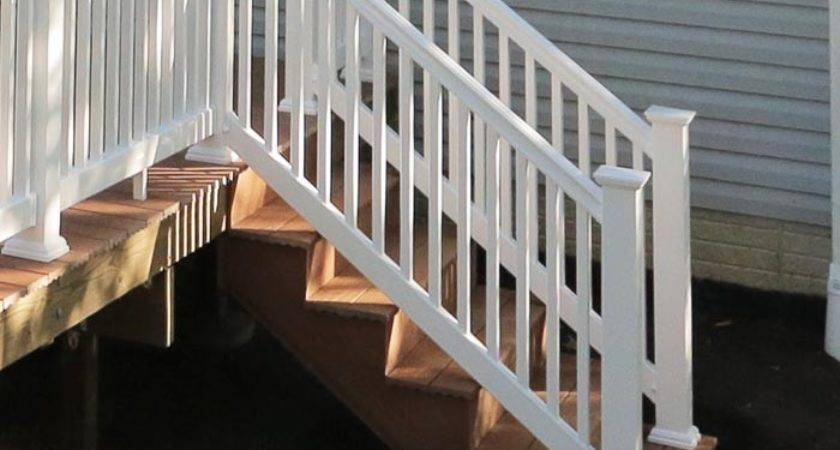 Ready Made Outdoor Wooden Stairs Designs