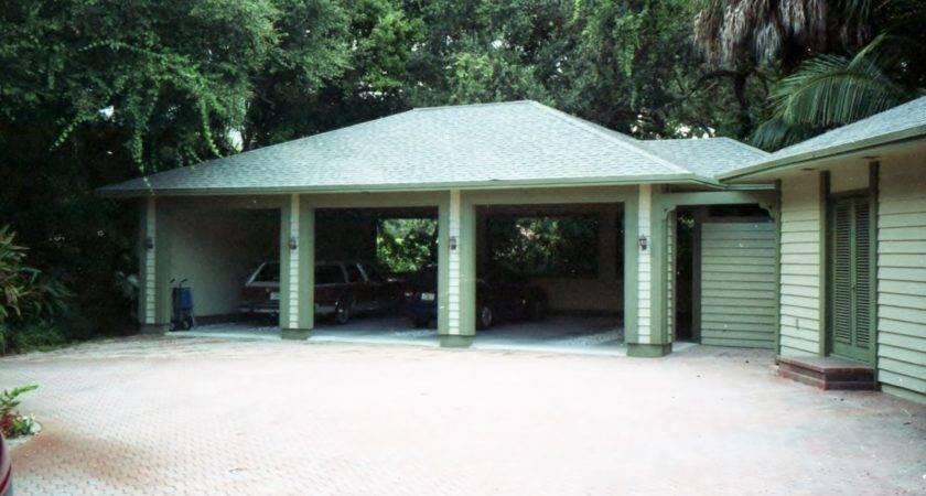 Real Modern Architect Carport Addition Vero Beach Florida