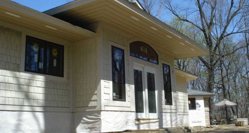Rear House Porch Sunroom Entrance Room Addition