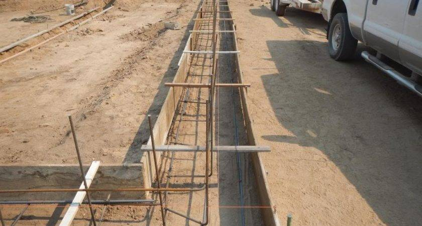 Rebar Placement Foundation
