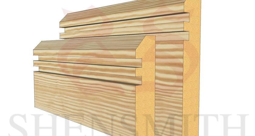 Rebated Pine Skirting Board Skirtingboards
