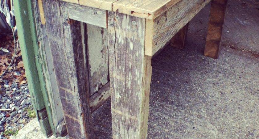 Reclaimed Cedar Table Llc