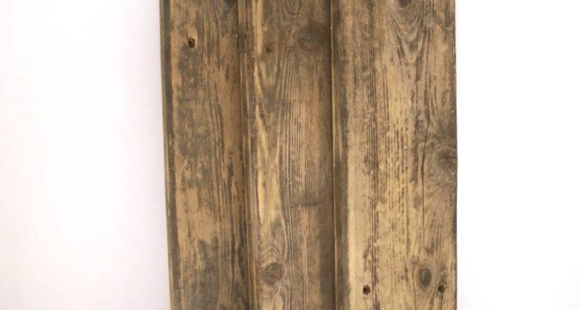 Reclaimed Cedar Wood Sign Rustic Board
