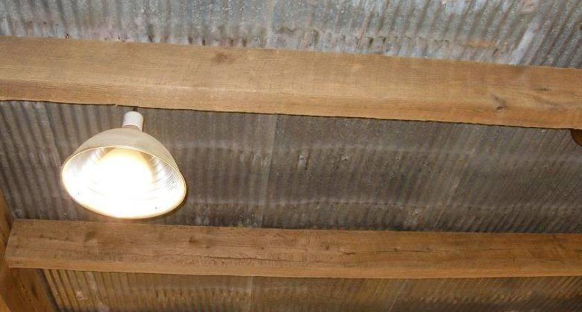 Reclaimed Metal Used Ceiling