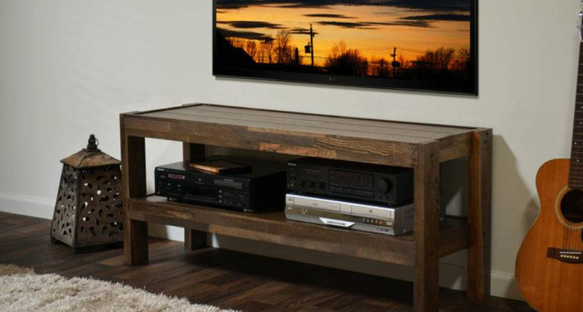 Reclaimed Pallet Barn Wood Style Stand Presearth