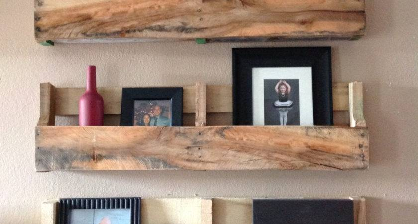 Reclaimed Pallet Shelves Set Delhutsondesigns Etsy