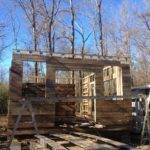 Reclaimed Stick Built Cabin Woodworking Talk