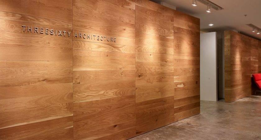 Reclaimed Wood Paneling Walls