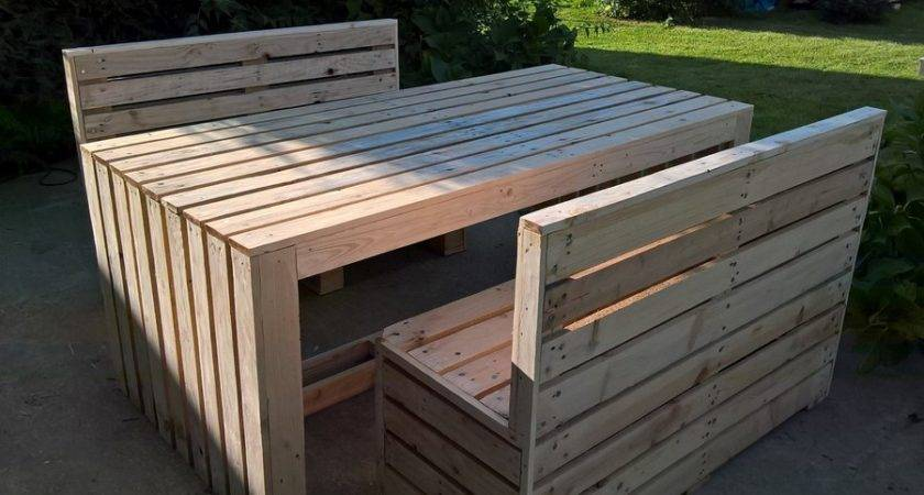 Recycled Outdoor Furniture Ideas