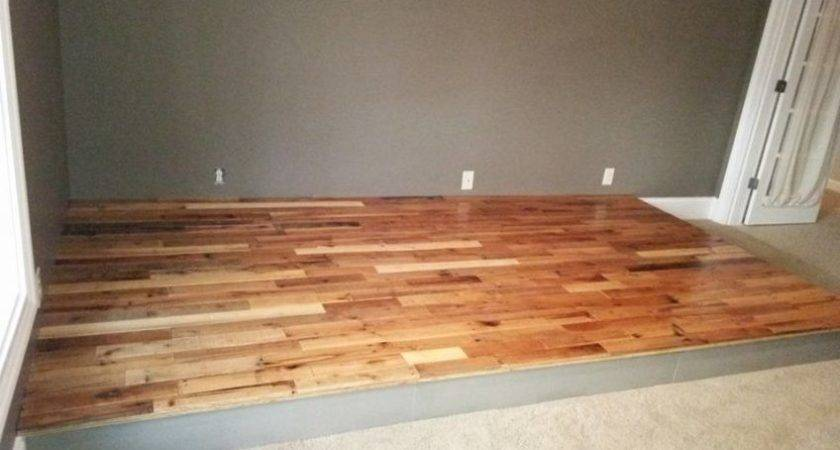 Recycled Pallet Flooring Diy Pallets
